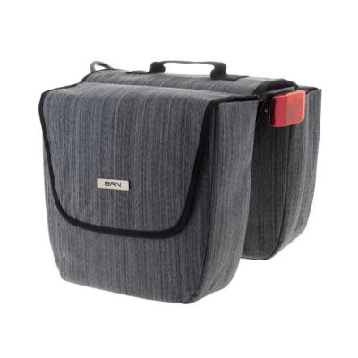 Sacoches BRN  city London Panier Gris